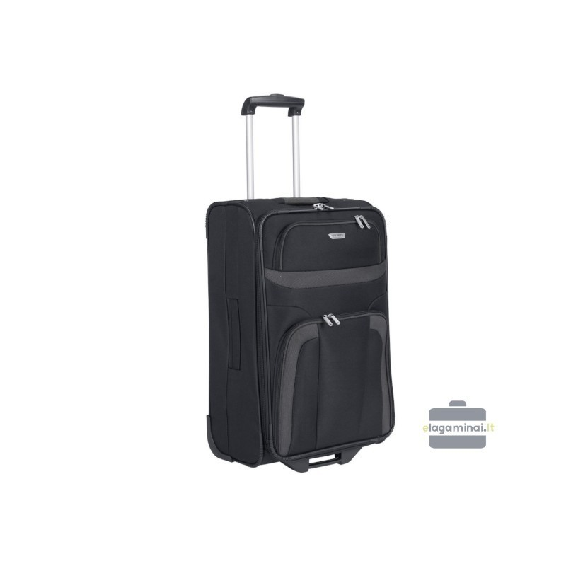 Keskmise suurusega kohver Travelite Orlando V must
