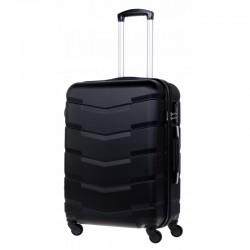 Keskmise suurusega kohver Bagia 8090-V must