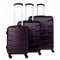 Käsipagasi kohvrid Bagia 8090-M pruun