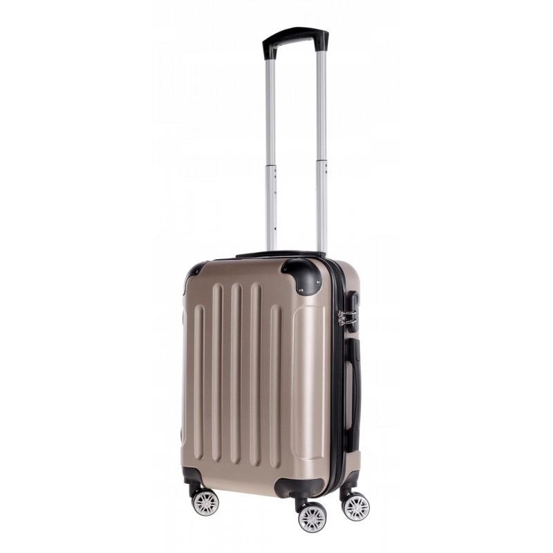Käsipagasi kohvrid Bagia 839-M šampanja