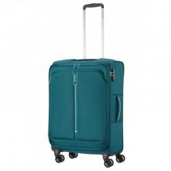 Keskmise suurusega kohver Samsonite PopSoda V roheline