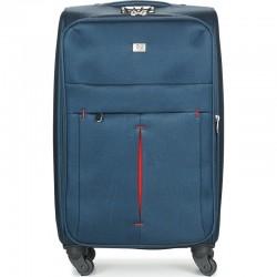 Keskmise suurusega kohver David Jones 5028-V  tumesinine
