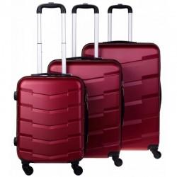 Käsipagasi kohvrid Bagia 8090-M t-punane
