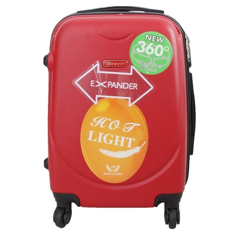 Käsipagasi kohvrid Gravitt 310A-M punane