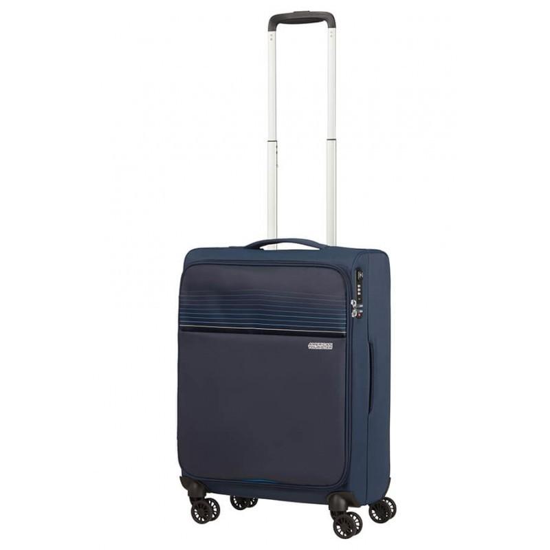 Käsipagasi kohvrid American Tourister Lite Ray M-4W tumesinine