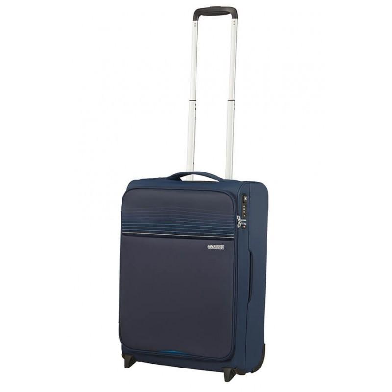 Käsipagasi kohvrid American Tourister Lite Ray M-2W tumesinine