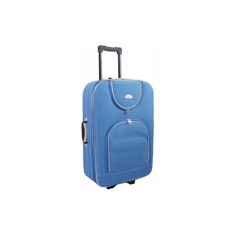 Keskmise suurusega kohvrid Deli 801-V helesinine