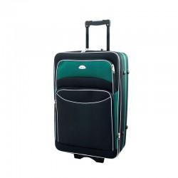Keskmise suurusega Deli 101-V must roheline