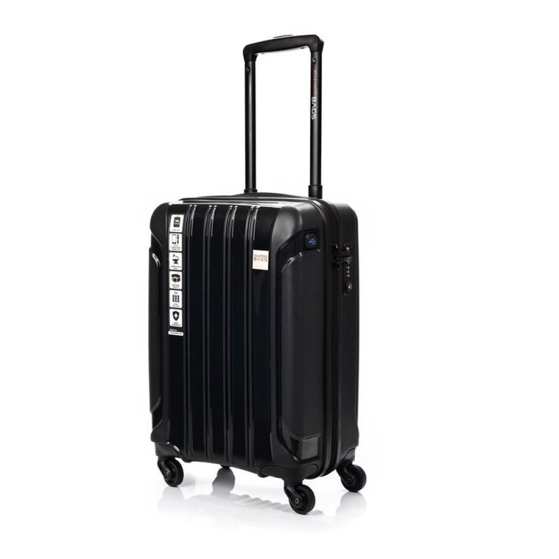 Käsipagasi kohvrid Swissbags Tourist PP-M must