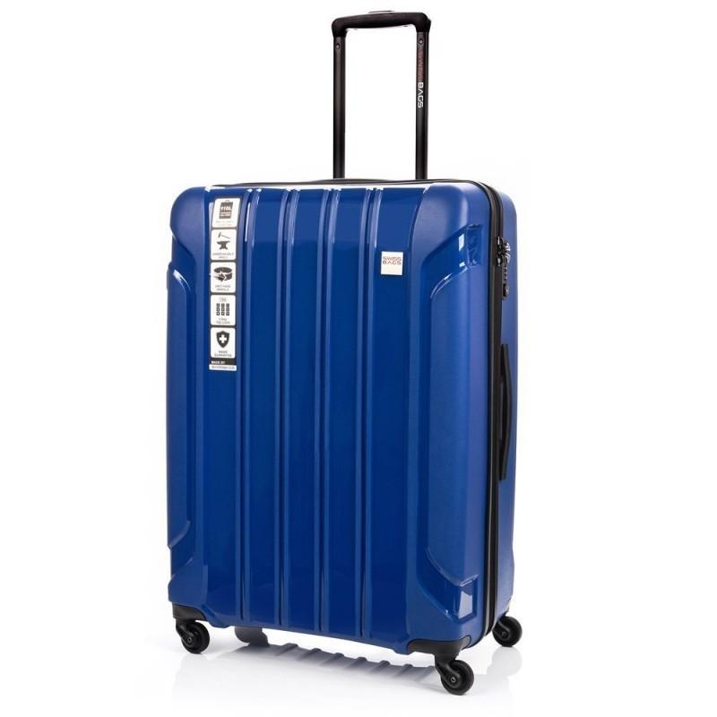 Suur kohver Swissbags Tourist PP-D sinine