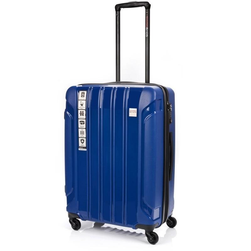 Keskmise suurusega Swissbags Tourist PP-V sinine