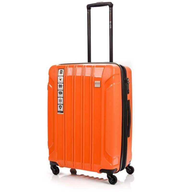Keskmise suurusega Swissbags Tourist PP-V orange