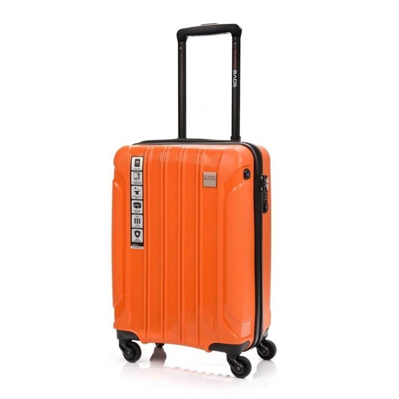 Käsipagasi kohvrid Swissbags Tourist PP-M orange