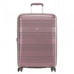 Keskmise suurusega kohver Travelite Zenit V tumeroosa