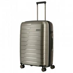 Keskmise suurusega kohver Travelite Air Base V šampanja