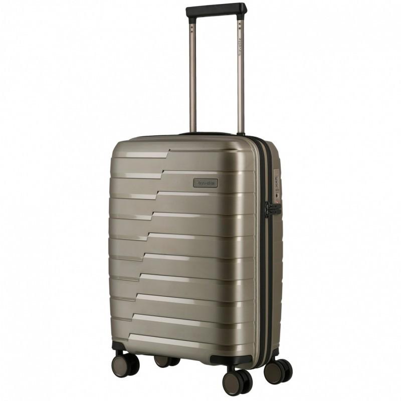 Käsipagasi kohvrid Travelite Air Base M šampanja