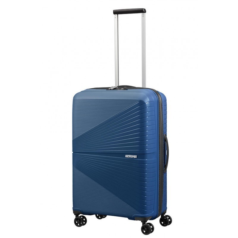 Keskmise suurusega kohver American Tourister Airconic V tumesinine