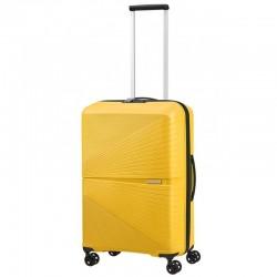 Keskmise suurusega kohver American Tourister Airconic V kollane