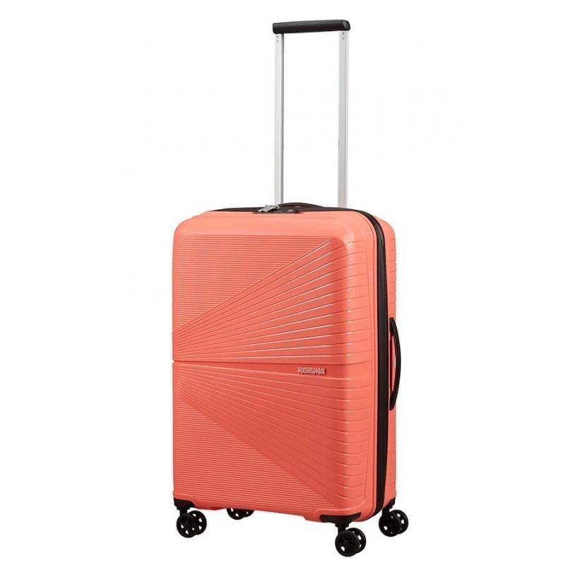 Keskmise suurusega kohver American Tourister Airconic V roosa