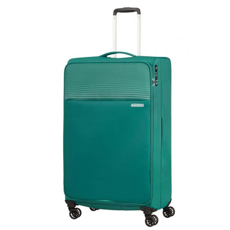 Suur Kohvrid American Tourister Lite Ray D roheline