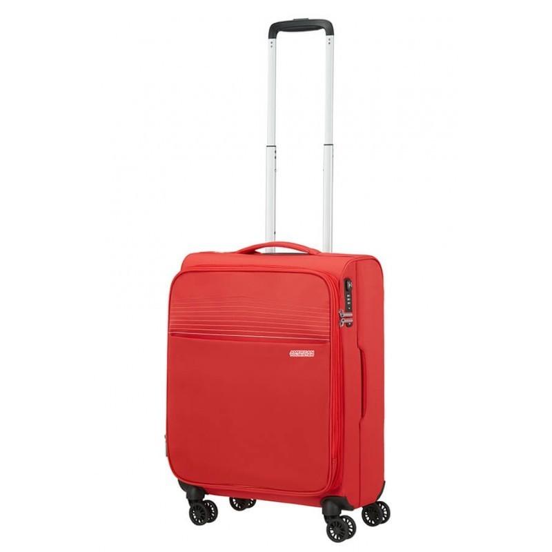 Käsipagasi kohvrid American Tourister Lite Ray M-4W punane