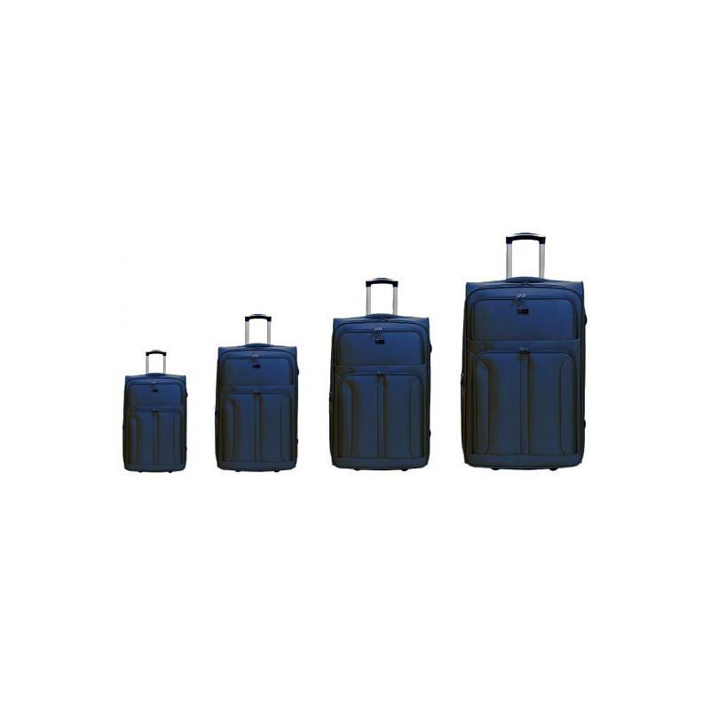 Käsipagasi kohvrid Airtex 6525 sininen