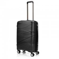 Keskmise suurusega kohvrid Swissbags Jaipur-V must