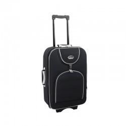 Keskmise suurusega kohver Suitcase 801-V must