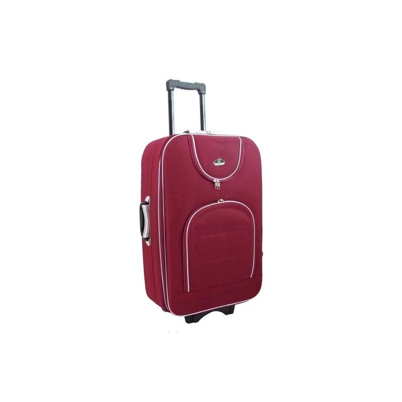 Suur kohver Suitcase 801-D tume red punane
