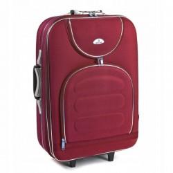 Keskmise suurusega kohver Suitcase 801-V red punane