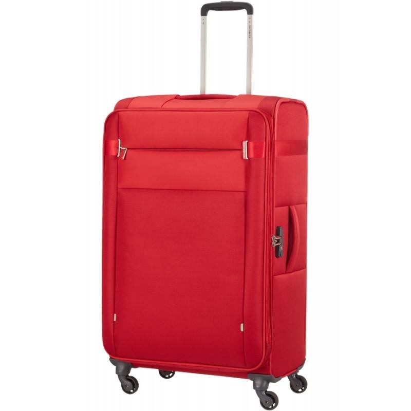 Suur kohver Samsonite CITYBEAT D red
