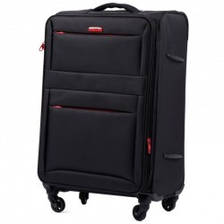 Keskmise suurusega kohvrid Wings 2861-V black