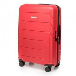 Keskmise suurusega kohver Wittchen 56-3T-772 red
