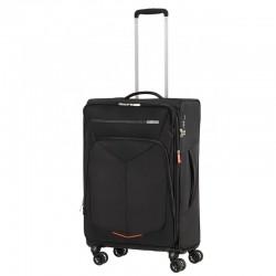 Keskmise suurusega kohvrid American Tourister Summerfunk V hall must