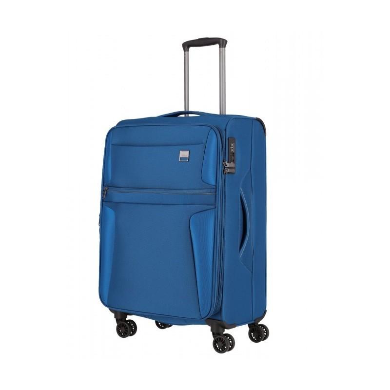 Keskmise suurusega kohver Titan CaridaV sinine