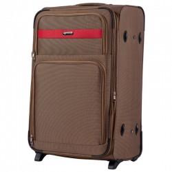 Didelis medžiaginis lagaminas Wings 1605-2-D Šviesiai rudas