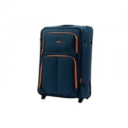 Didelis medžiaginis lagaminas Wings 214-2-D Mėlynas