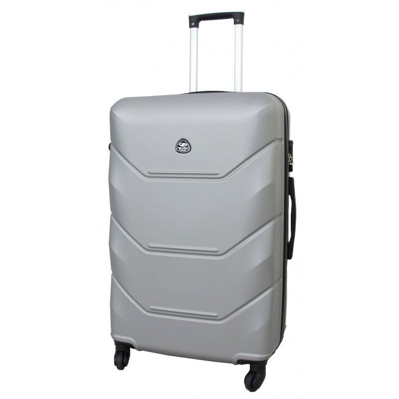 Keskmise suurusega kohver Gravitt 950-V silver