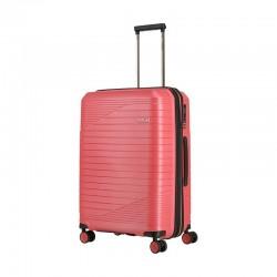 Keskmise suurusega kohver Titan Transport-V roosa