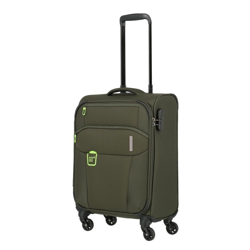 Käsipagasi kohvrid Travelite Go M roheline Khaki