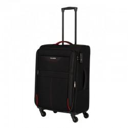 Keskmise suurusega kohver Travelite Sunny Bay V must