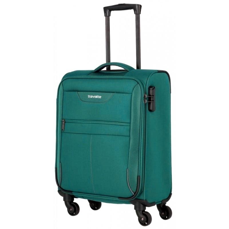 Käsipagasi kohvrid Travelite Sunny Bay M-4w Türkiissinine