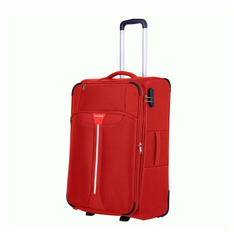 Keskmise suurusega kohver Travelite Speedline V-2w punane