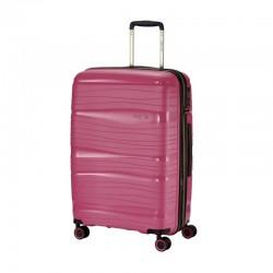 Travelite Motion V roosa keskmise suurusega kohvrid