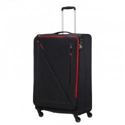 Suur kohver American Tourister Lite Volt D must Black-red
