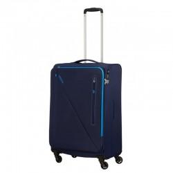 Keskmise suurusega kohver American Tourister Lite Volt V sinine Navy-blue