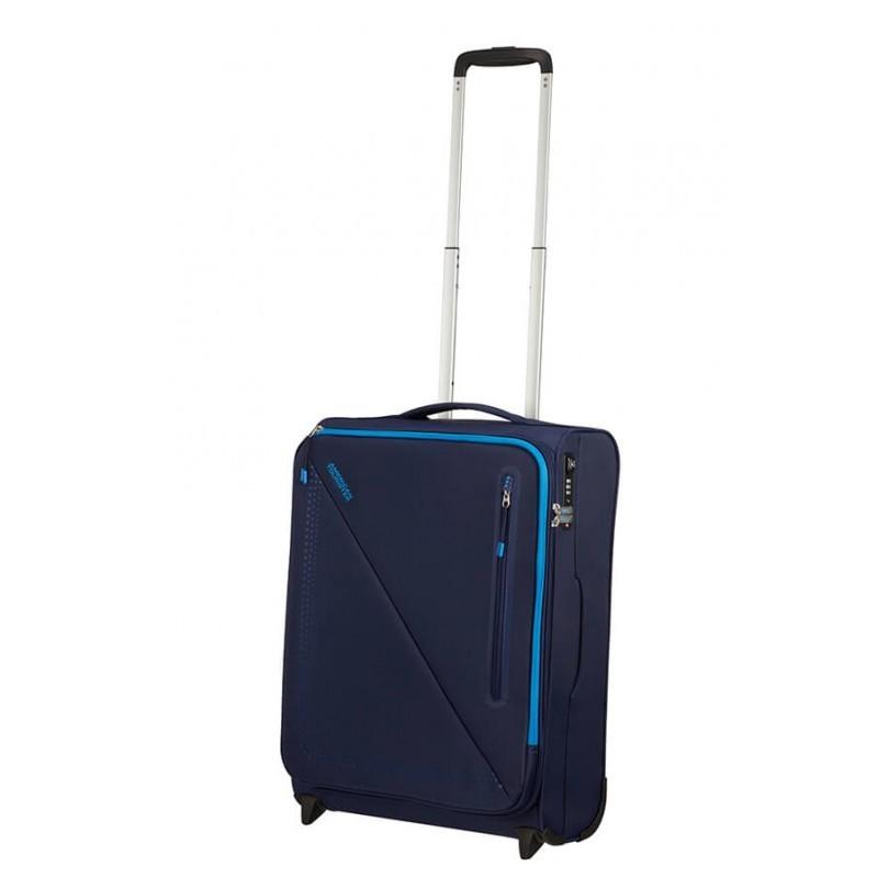 Käsipagasi kohvrid American Tourister Lite Volt M-2W sinine Navy-blue