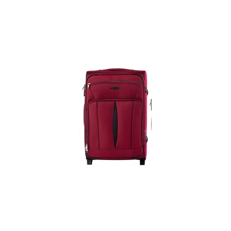 Keskmise suurusega kohvrid Wings 1601-2-V dark red