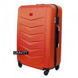 Keskmise suurusega kohver Gravitt 602-V orange