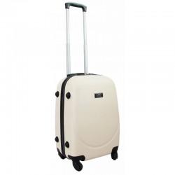 Vaikiškas plastikinis lagaminas Gravitt 310-S Kreminė spalva